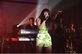 Solange Knowles perfoms at the El Boton - Mango Fashion Award party