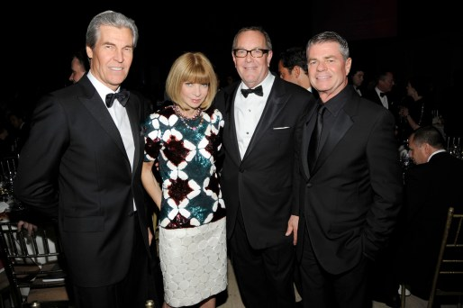 Terry Lundgren, Anna Wintour, Ron Frasch, Tom Murry