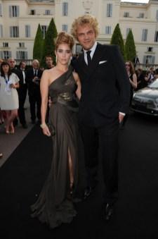 Vahina Giocante and Peter Dundas