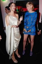 Georgina Chapman and Sharon Stone