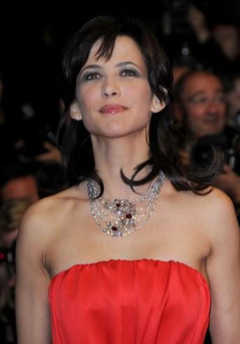 Sophie Marceau in Chaumet Jewelry