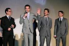 J. J. Abrams; Chris Pine; Eric Bana; Karl Urban