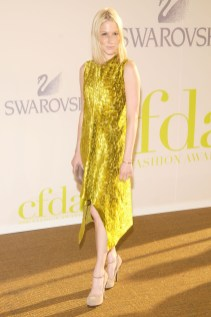 Julie Macklowe in Calvin Klein