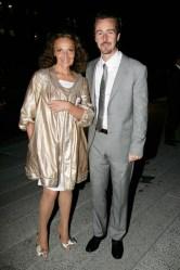 Diane von Furstenberg, Edward Norton