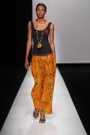 Mustafa Hassanali at the Arise Africa Fashion Week 2009