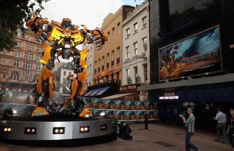 Transformers Premiere in London