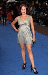 Sarah Cawood: Transformers Premiere in London