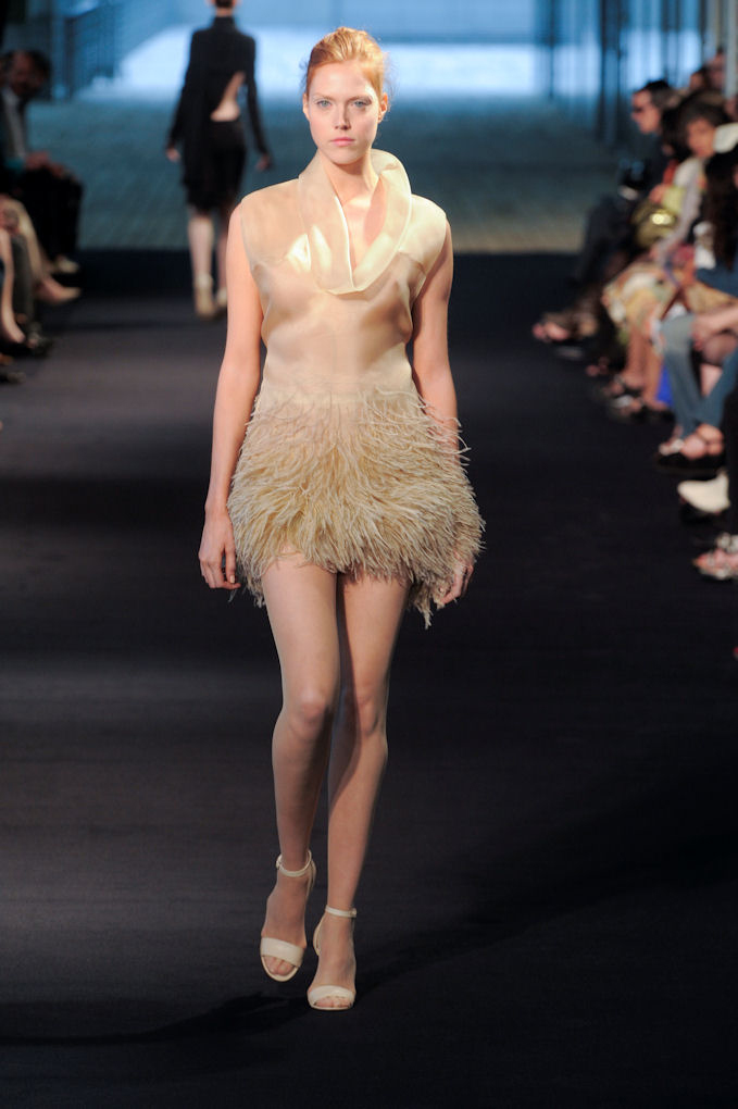 Julien fourni haute couture fall 2009 vulnerability is for Haute couture today