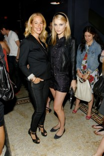 Jessica Stam and Sari Sloane
