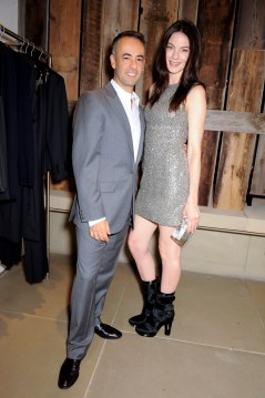 Francisco Costa and Michelle Monaghan