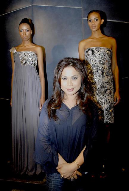 Designer Farah Angsana