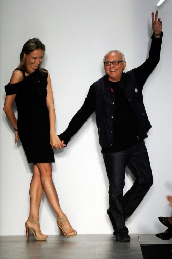 Max Azria and his wife Lubov Azria