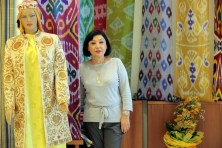 Elmira Akhmedova , directice of The Center of National Arts