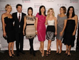 Patrick Dempsey; Jillian Dempsey; Fergie; Andrea Jung; Reese Witherspoon; Lauren Conrad; Courteney Cox