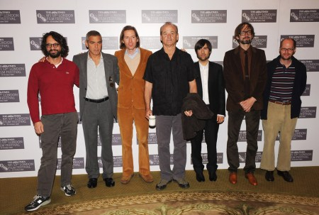 Wes Anderson; George Clooney; Jason Schwartzman; Jarvis Cocke