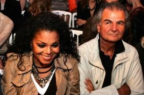 Janet Jackson and Patrick Demarchelier