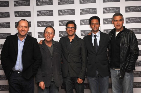 Kevin Spacey; Jon Ronson; Paul Lister; Grant Heslov; George Clooney