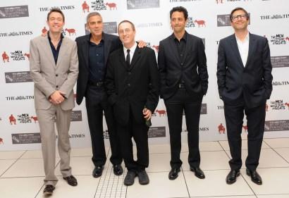 Paul Lister; Peter Straughan; George Clooney; Jon Ronson