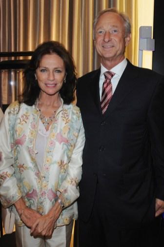 Jacqueline Bisset and Lutz Bethge