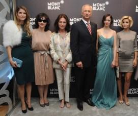 AliceTaglioni, Juliette Binoche, Jacqueline Bisset, Lutz Bethge, Eva Green and Clotilde Courau