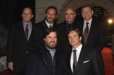 Jack Rapke, Starkey, Bob Hoskins, Robert Zemeckis, Jim Carrey and Colin Firth