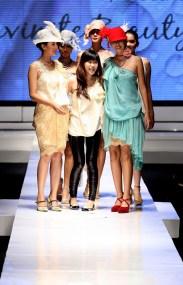 Sisca Tjong at ESMOD Show