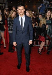 "Taylor Lautner in Calvin Klein during ""The Twilight Saga: New Moon"" premiere"