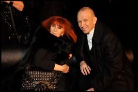 Sonia Rykiel and Jean Paul Gaultier