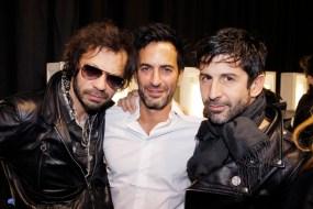 Olivier Zahm, Marc Jacobs, André