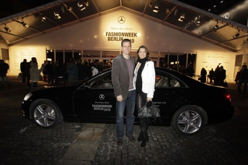 Oliver Bierhoff mit Frau Klara