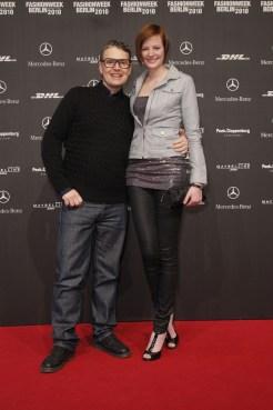 Rolf Scheider und Jennifer Hof