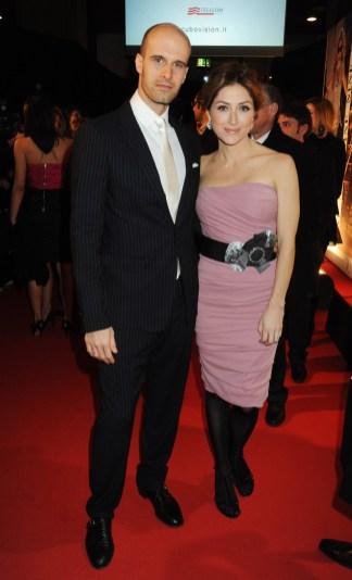 Edoardo Ponti and Sasha Alexander