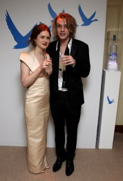 Jamie Campbell Bower; Bonnie Wright