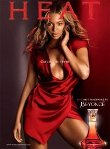 Beyonce Heat poster