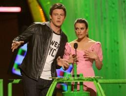 Cory Monteith; Lea Michele