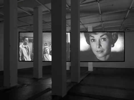 Douglas Gordon - 4 Hour Psycho Back and Forth and To and Fro, 2008