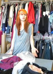 Anastasia Lomonova in her atelier