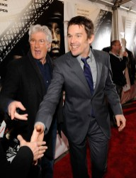 Richard Gere and Ethan Hawke wearing Calvin Collection designed by designed by Italo Zucchelli