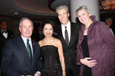 Mayor Michael R. Bloomberg, Dr. Joyce F. Brown, Terry Lundgren, Meredith Hay