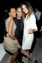 Kerry Washington, Francisco Costa, Isabel Lucas