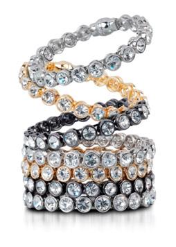 Carolee LUX Crystal Bangles - $50