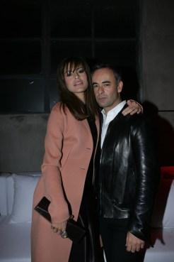 Eva Mendes and Francisco Costa