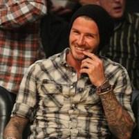 David Beckham in AllSaints