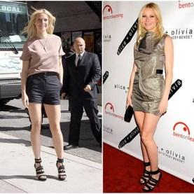 Gwyneth Paltrow wearing Emilio Pucci sandals