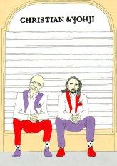 Christian Lacroix and Yohji Yamamoto by aleXsandro Palombo