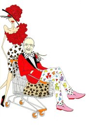 Christian Lacroix by aleXsandro Palombo Humor Chic
