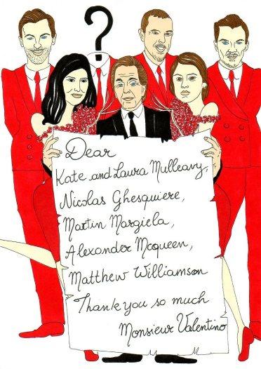Valentino, Rodarte Kate and Laura Mulleavy, Balenciaga Nicolas Ghesquiere, Martin Margela, Alexander Mcqueen, Matthew Williamson by aleXsandro Palombo