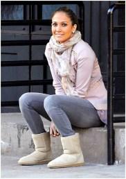 Jennifer Lopez wearing Genetic Denim
