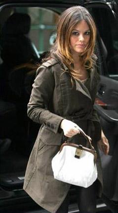 Rachel Bilson carrying a Marni bag