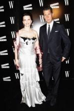 Juliette Binoche and Stefano Tonchi